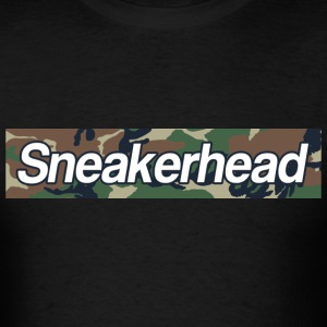 sneakerhead camo bar 2 T-Shirts - Men's T-Shirt