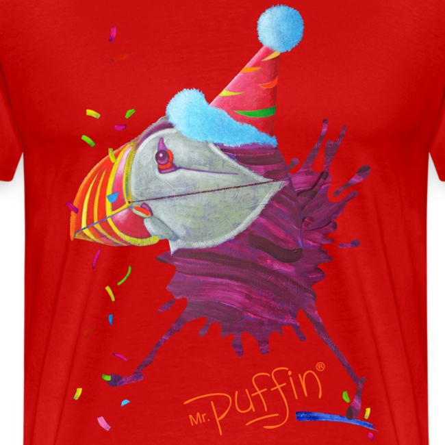 MR. PUFFIN - front print - s/5xl - multi colors