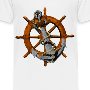 Anchor Wheel - Toddler Premium T-Shirt