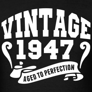 Vintage 1947 Aged To Perfection T-Shirts - Men's T-Shirt