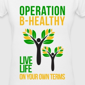 Operation B-Healthy Women's T-Shirts - Women's V-Neck T-Shirt