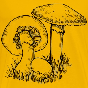 Mushrooms - Men's Premium T-Shirt