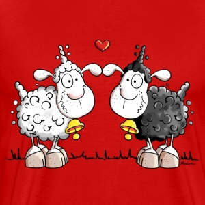 Sheep in love T-Shirts - Men's Premium T-Shirt