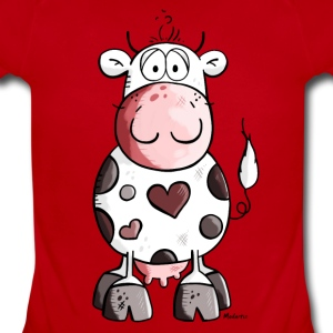 Lovely cow Baby Bodysuits - Short Sleeve Baby Bodysuit