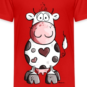 Lovely cow Kids' Shirts - Kids' Premium T-Shirt