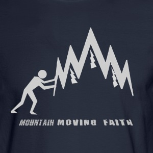 MOUNTAIN-MOVING FAITH - Men's Long Sleeve T-Shirt