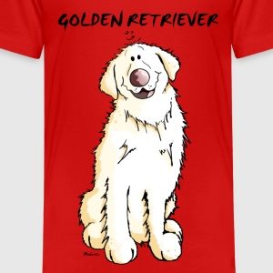 Gordi Golden Retriever Kids' Shirts - Kids' Premium T-Shirt