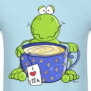 Tea Time Frog T-Shirts - Men's T-Shirt