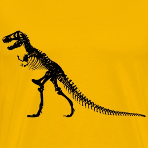 TRex Skeleton - Men's Premium T-Shirt