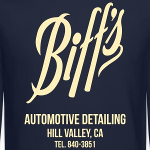 Biff's Automotive Detailing Shirt Long Sleeve Shirts - Crewneck Sweatshirt