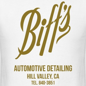 Biff's Automotive Detailing Shirt T-Shirts - Men's T-Shirt