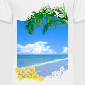 Tropical Beach - Toddler Premium T-Shirt
