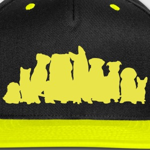 Dogs, Dog Caps - Snap-back Baseball Cap