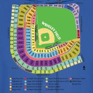Design ~ Wrigley Field Seating Chart
