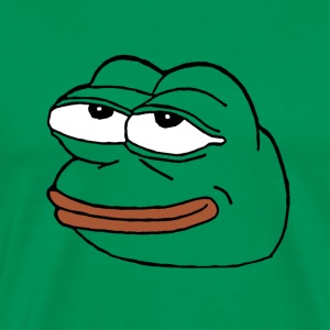 pepe face T-Shirts - Men's Premium T-Shirt