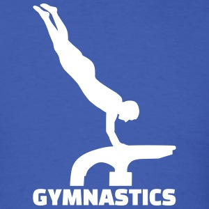 Gymnastics T-Shirts - Men's T-Shirt