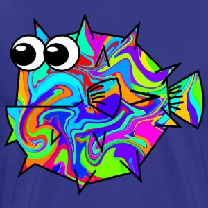 Colouful Pufferfish T-Shirts - Men's Premium T-Shirt