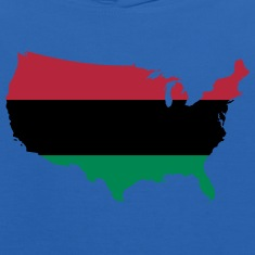 African American _ Red, Black & Green Colors Sweatshirts