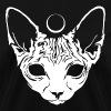Luna Sphynx (white) - Women's T-Shirt