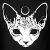 Luna Sphynx (white) - Men's T-Shirt