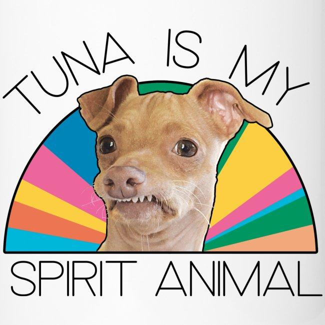 Tuna is my Spirit Animal Travel Mug (multi)