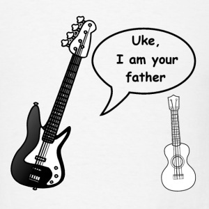 Uke, I am your father - Men's T-Shirt