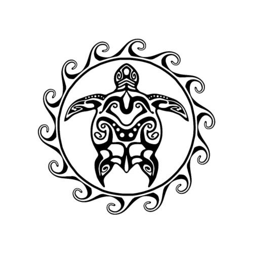Maori Sun Turtle