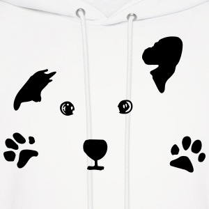 dog, puppy Hoodies - Men's Hoodie