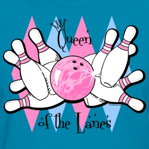 Queen of the Lanes Women's T-Shirts - Women's T-Shirt