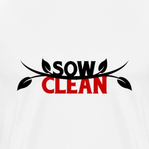 Sow Clean T-Shirts - Men's Premium T-Shirt