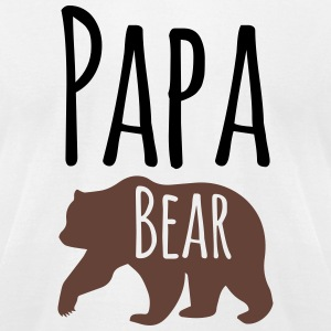 Papa Bear - Men's T-Shirt by American Apparel - Men's T-Shirt by American Apparel
