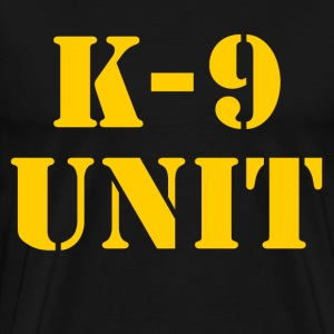 k-9 Unit T-Shirts - Men's Premium T-Shirt