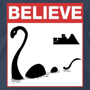 Believe Loch Ness Monster T-Shirts - Men's Premium T-Shirt