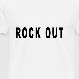 rock_out - Men's Premium T-Shirt