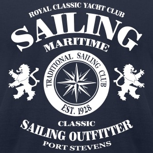 Maritime Sailing T-Shirts - Men's T-Shirt by American Apparel