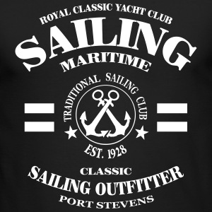 Maritime Sailing Long Sleeve Shirts - Men's Long Sleeve T-Shirt by Next Level