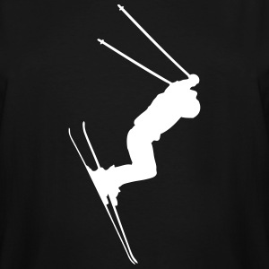 Skiing T-Shirts - Men's Tall T-Shirt