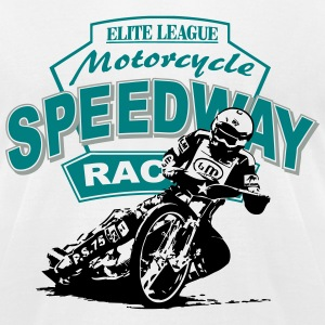 Speedway Racing T-Shirts - Men's T-Shirt by American Apparel