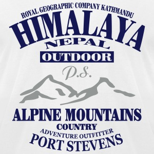 Himalaya - Nepal T-Shirts - Men's T-Shirt by American Apparel