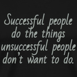 Successful People - men's white - Men's Premium T-Shirt