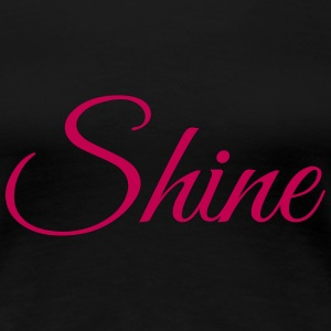Shine - short sleeved pink - Women's Premium T-Shirt