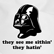 Design ~ Darth Vader They See Me Sithin' - Dog Bandana