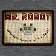 mr robot patch | fsociety Women's T-Shirts