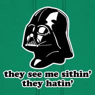 Design ~ Darth Vader Sithin' - Men's Hoodie - Hooded Sweatshirt