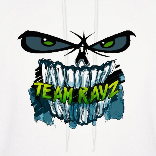 Team Rayz Zombie Face Hoodie