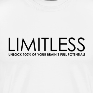 Limitless (white tshirt) - Men's Premium T-Shirt