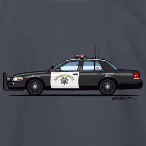 California Highway Patrol Ford Crown Victoria Poli - Kids' Long Sleeve T-Shirt