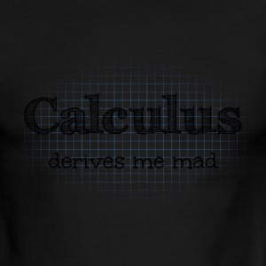 Calculus Derives Me Mad T-Shirts - Men's Ringer T-Shirt