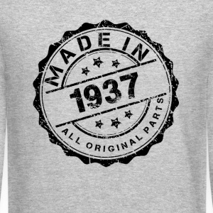 MADE IN 1937 ALL ORIGINAL PARTS Long Sleeve Shirts - Crewneck Sweatshirt