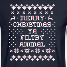 Merry Christmas Ya Filthy Long Sleeve Shirts